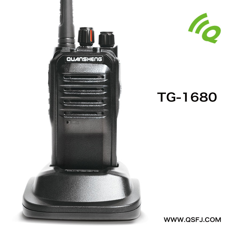 High power 8W military radios for sale QuanSheng TG-1680