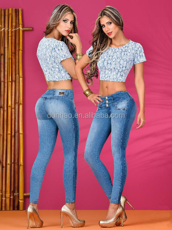 meilleur colombienne fesses de levage slim sexy jeans pour les femmes jeans id de produit. Black Bedroom Furniture Sets. Home Design Ideas