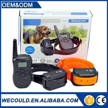 WT738N 300m Remote Control Shock Electronic Dog Training Collar with No Bark Function