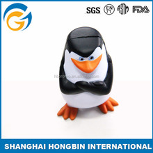 Plastic Toy Penguin Paintball Stress Ball