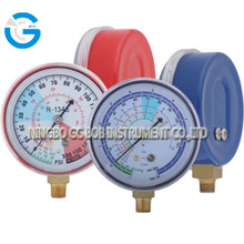 High quality air conditioner manifold refrigerant gauge