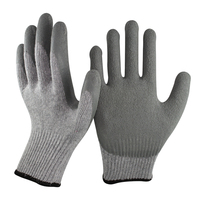 SRSAFETY sample free made in China latex polycotton high quality labor gloves