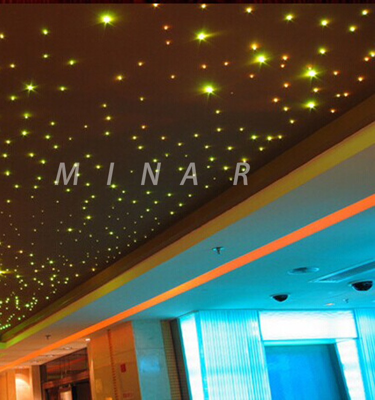 manufacturer cheap price fiber optic ceiling end piece for decoration light