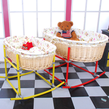 Hot sales bassinet wicker baby bassinet baby swing bassinet for baby