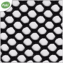 150gsm hexagonal polyester mesh fabric for shopping bag