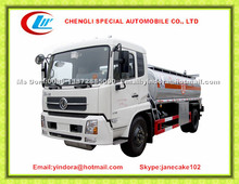 Dongfeng tianjin 12000 litres price of fuel delivery truck