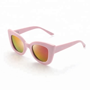 High Quality Fashionable Design Cool polarized UV400 children kids cat-eye sunglasses for baby girls boys for children