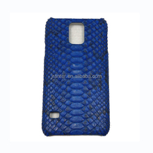 Genuine Python Case for Samsung S5, Custom Leather Cover for Samsung Galaxy S5
