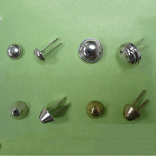 Cheap Price For Exporting 15mm Cone With Flat Head Bag Ball Cap For Bags