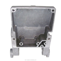 OEM casting part high quality double grill pan cast iron die casting with zinc plating