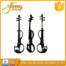 TL-EV03 The Black Students Types Prices Electric Violins Sales in China