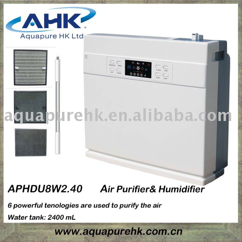 48 Square Meter Air Purifier with Humidifier 2.4 L for House