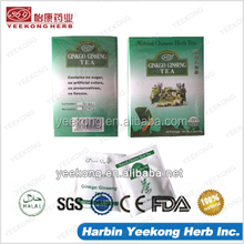 Ginkgo Ginseng Tea herbal Chinese Drink