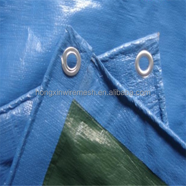 Inner HDPE Woven Fabric, LDPE laminated both sides PE Tarpaulin