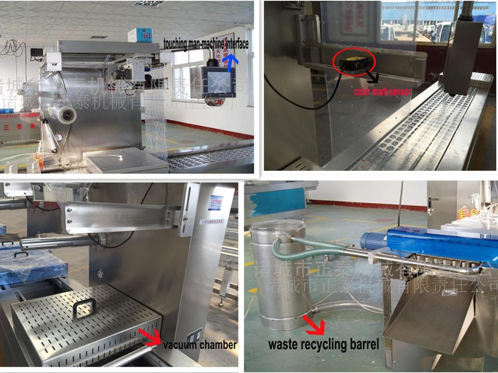 Automatic Stretch Film Vacuum Packing Machine Of 12months Maintenance Period To The Problems