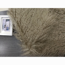 STABILE 2017 Custom made long hair fake faux mink fur fabric With Long-term Service