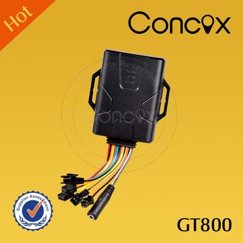 2017 New arrival !Concox GT800 Multi-function IP66 waterproof vehicle gps tracker