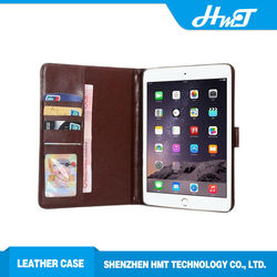 for iPad mini wallet leather flip case retro leather flip case for iPad
