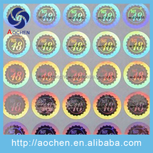 3D Visa Custom Hologram Sticker, Hologram Label Stickers,Hologram Sticker Printer