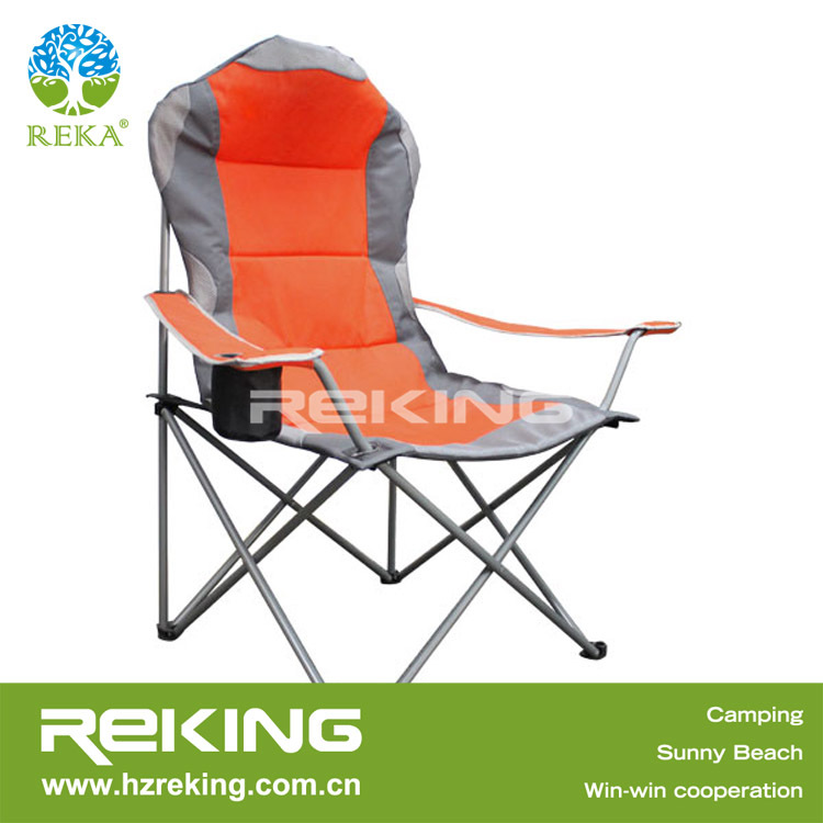 High Back Fishing Arm Chair with Cup Holder