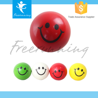 Multi-Functional Smile Smiley Face Wrist Exercise Stress PVC Hand Ball