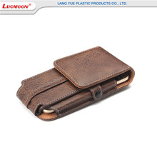 Good quality climbing wallet leather cell phone cases for Samsung s8 s7 s6 s5 s4 s3 purse leather flip mobile phone cases