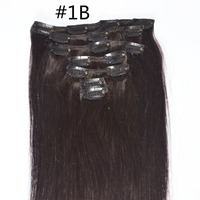 cheap hair extensions clip in hair full head for african american