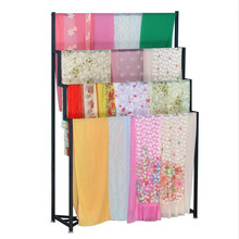 Custom Metal Hanging Rug Blanket Display Stand Rack For Sale