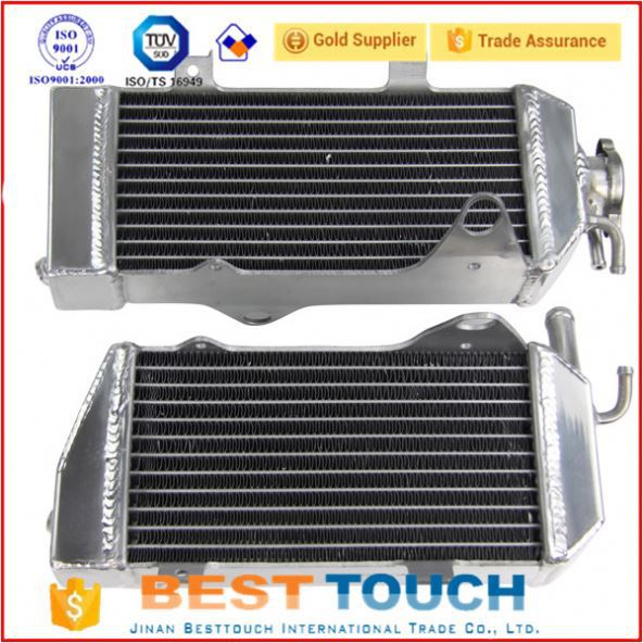 40MM 2ROW racing car radiator for KTM KTM400/450/525 SX/MXC/EXC 2003-2007