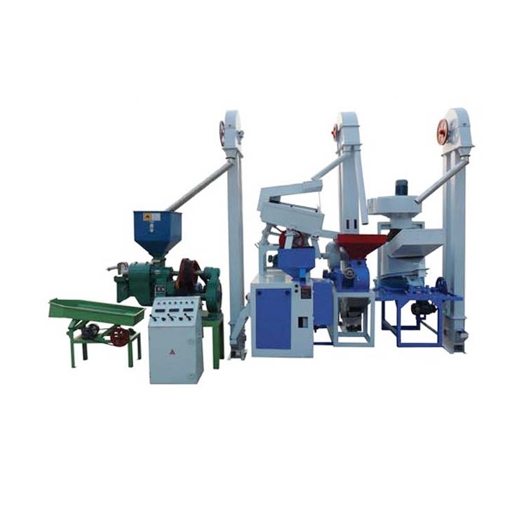 Rubber-Roller Rice Hulling, Milling, Polishing Machine/Price Rice Huller Polisher Machine