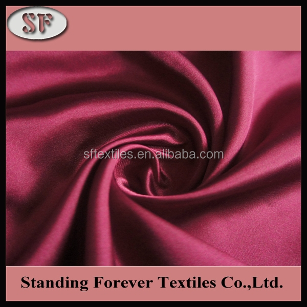 wholesale shiny waterproof duchess satin imitated fabric