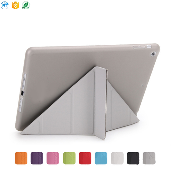 Manufacturer Wholesale Ultra Slim Magnetic Smart Cover For iPad Air 2 Case 9.7 2017