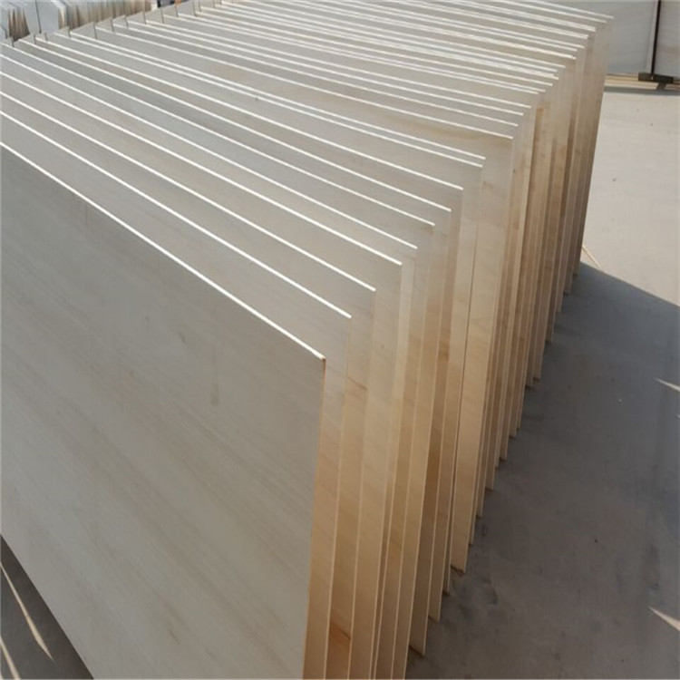 low price paulownia blanks edge glued joint wood