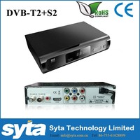 OEM/ODM Free to air Combo DVB-T2&DVB-S2 tv receiver free tv channel receiver
