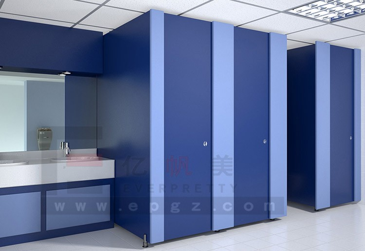 HPL Board Male Toilet Cubicle Wall Partition