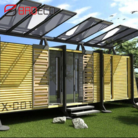 20ft 40ft durable portable modern flatpack office stackable container house