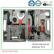 18 parts in one bike tool case bicycle repair tool kits TC13
