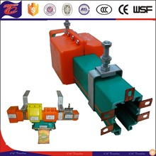 PVC Supply mobile power copper conductor bus bar /electrification insulation crane rail