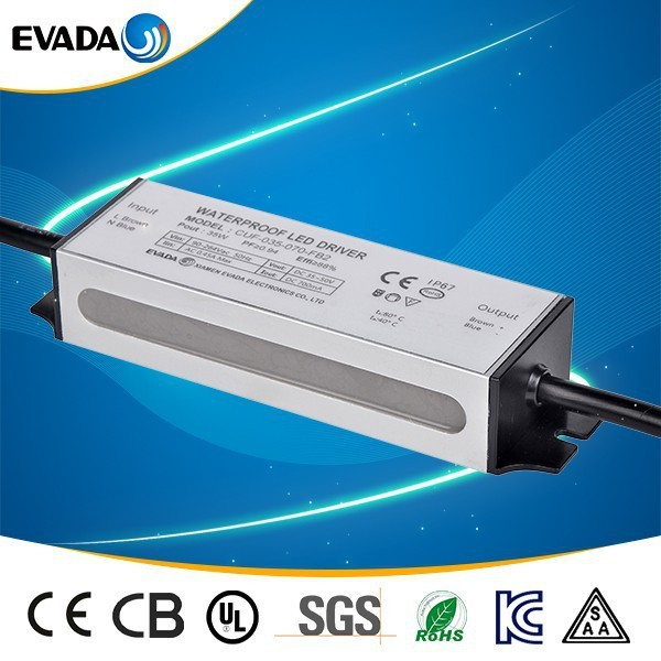Cheap CE approved IP67 40W Waterproof led driver 1050ma switch power supply