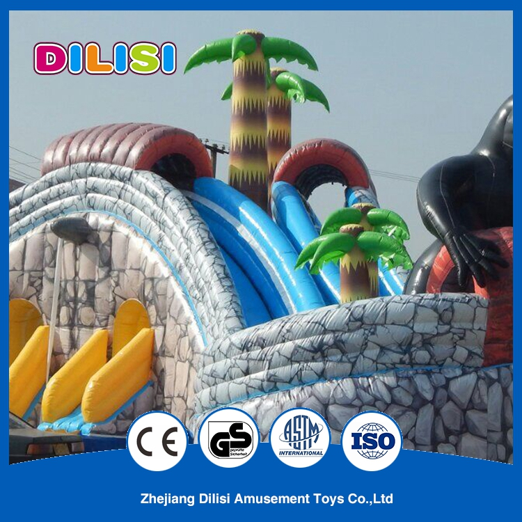 New Commercial Funny Outdoor Safe Kids Inflatable Castle with Slide