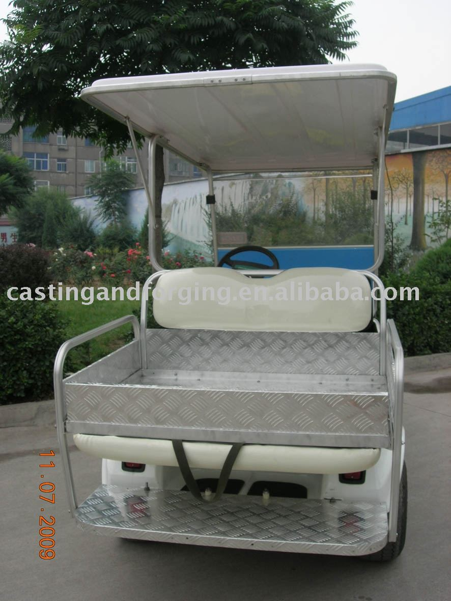 Aluminum golf cart seat kit