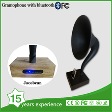 Gramophone Style Voice Nostalgia Retro Music System With Bluetooth Technology