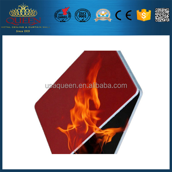 Foshan waterproof aluminum composite facing board with CE certificate