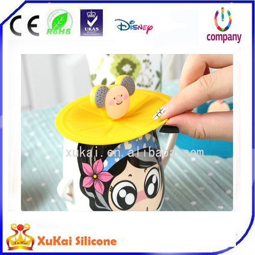 fashion silicone cup cover lid 02
