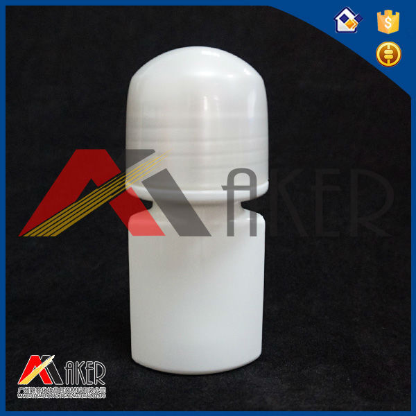 50ml Plastic Roll on deodorant perfume bottle