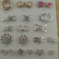 High Quality Plastic Shoes Accessories Rhinestone
