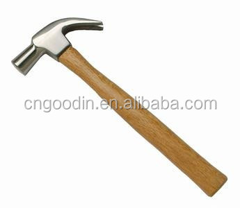 AMERICAN TYPE TOOL CLAW HAMMER WITH WOODEN HANDLE GOOD QUALITY