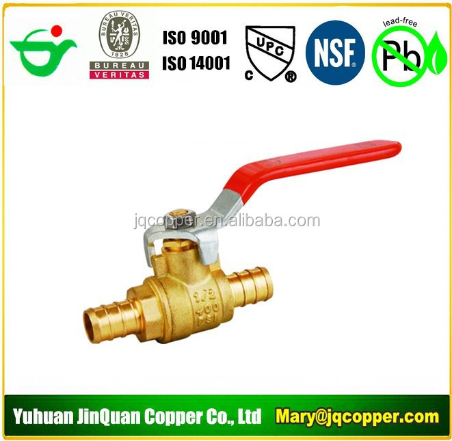 USA Standard Pex Shut off Ball Valve
