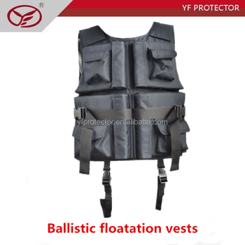 NIJ IIIA against 9mm ballistic floatation vests/Floating bulletproof clothes
