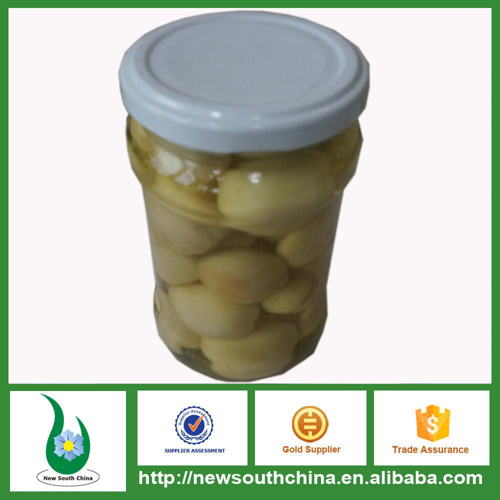 Champignon mushroom in glass jar 314ML